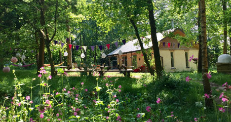 THE GREEN ESCAPE Glamping Surrey Exclusively for Groups