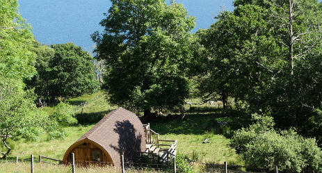 Cabins and Pods in Scotland