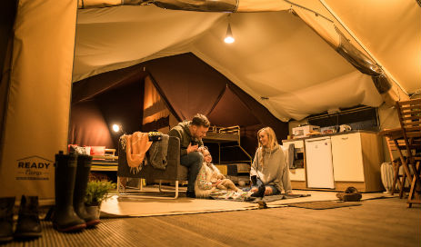 TAVISTOCK READY CAMP Glamping Devon