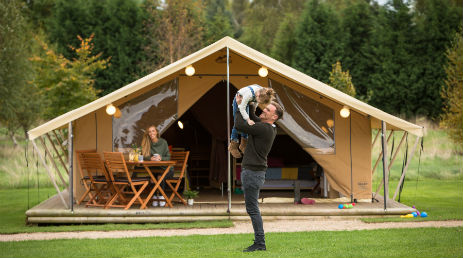 ALTON THE STAR READY CAMP Glamping near Alton Towers Staffordshire