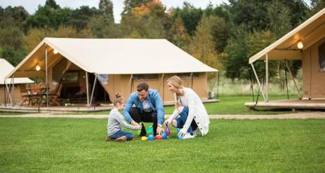 barnard castle camping and caravan club ready tents