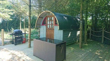 LANE END CAMPING PODS Glamping Devon