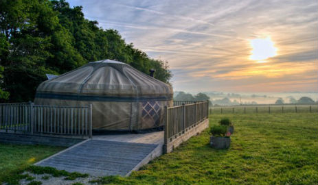 LITTLE HALDEN FARM Glamping Kent