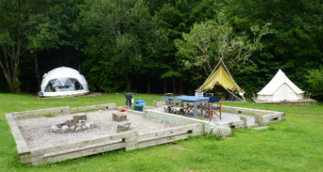 INVER COILLE CAMPING Glamping Scotland