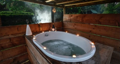 Glamping The Lake District With Hot Tub Drybeck Farm Yurts And Hut