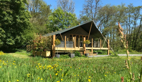 FELIN GERI Glamping Wales with Hot Tub
