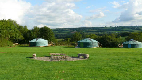 OAKTREE LANE YURTS AND CAMPING Glamping Devon
