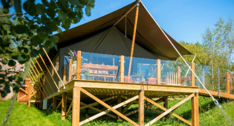 A LITTLE BIT OF ROUGH Glamping Leicestershire and Rutland