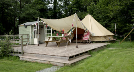 WYE GLAMPING in Wales
