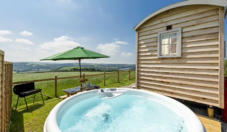 Hot Tub Glamping in Cornwall