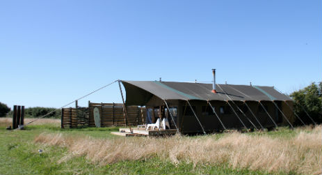 CORNWALL AND DEVON SAFARI TENTS with CLASSIC GLAMPING