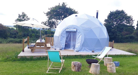 WILD WELLINGTONS Glamping Wales