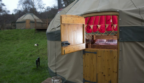 KELBURN ESTATE Glamping Scotland