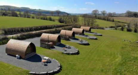 BUILTH WELLS WIGWAM HOLIDAYS Glamping Wales with Hot Tub
