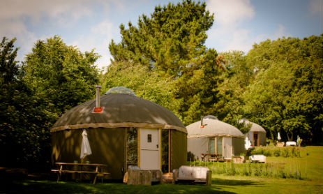THE GARLIC FARM Glamping Isle of Wight