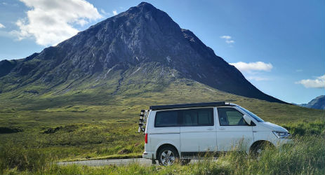 CLASSIC CAMPER HOLIDAYS Camper Hire Scotland and The Scottish Borders