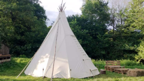 WHITE HOUSE ON WYE Glamping Herefordshire