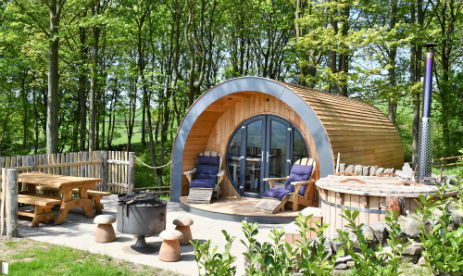 CATGILL FARM Glamping Yorkshire with Hot Tub