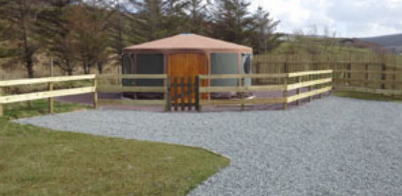 Glamping in Scotland at The Isle of Skye Club Site