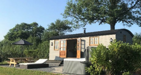 Glamping with hot tubs in Cornwall & Devon with cl;assic Glamping