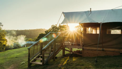 EXE VALLEY GLAMPING Devon