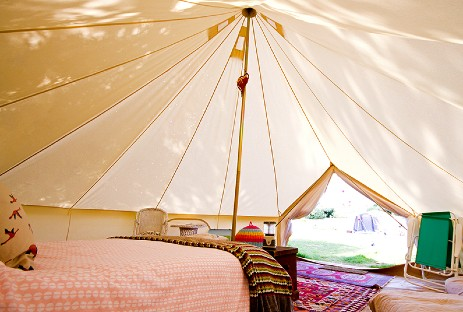 HARRYS FIELD NEWS Glamping Hampshire