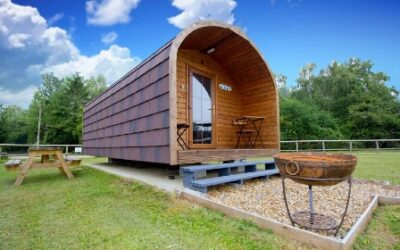 Glamping Suffolk with Swimming Pool Barn Owl Glade