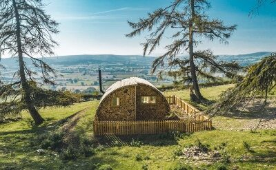 Glamping Yorkshire Hush Hush Pod Views