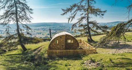 HUSH HUSH GLAMPING Powys Wales